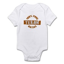 TEXAS SHIRT 100% TEXAN EVERYT Infant Bodysuit