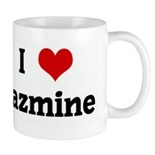 I Love jazmine Coffee Mug
