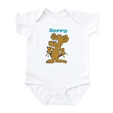 Sorry Infant Bodysuit