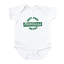 COLORADO SHIRT 100% NATIVE CO Infant Bodysuit