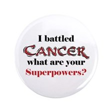 "I Battled Cancer 3.5"" Button (100 pack)"