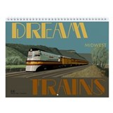 Dream Trains Midwest Wall Calendar