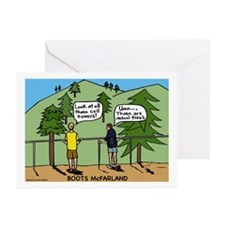 Boots Greeting Cards (Pk of 20)