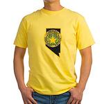 Nevada Highway Patrol Yellow T-Shirt