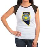Nevada Highway Patrol Women's Cap Sleeve T-Shirt