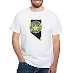 Nevada Highway Patrol White T-Shirt