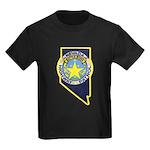 Nevada Highway Patrol Kids Dark T-Shirt