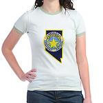 Nevada Highway Patrol Jr. Ringer T-Shirt