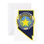 Nevada Highway Patrol Greeting Cards (Pk of 20)