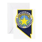 Nevada Highway Patrol Greeting Cards (Pk of 10)