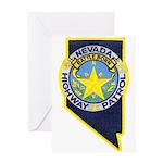Nevada Highway Patrol Greeting Card