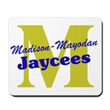 Official M&M Jaycees Logo Mousepad