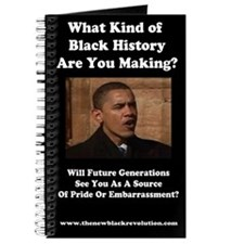 Funny Obama makes history Journal