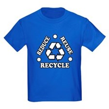 'Reduce Reuse Recycle' T