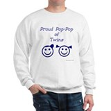 Proud Pop-Pop of Twins - BG smiley Jumper