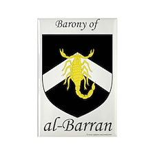 al-Barran populace Rectangle Magnet