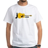 JGuitar.com 2-sided T-Shirt (white)