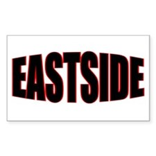 """EASTSIDE"" Rectangle Decal"