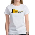 Jguitar.com Women's 2-Sided T-Shirt (white)