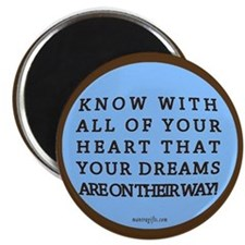 Inspirational Dream Magnet