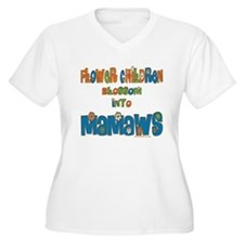 Former Flower Child Mamaw T-Shirt