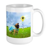 Happy Days Pug Coffee Mug