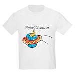 Kid Art Flying Saucer Kids Light T-Shirt