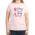 I Wear Pink For My Aunt Women's Light T-Shirt