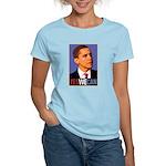 "Barack Obama ""Yes We Can"" Women's Light T-Shirt"