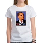 """Barack Obama """"Yes We Can"""" Women's T-Shirt"""