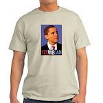 "Barack Obama ""Yes We Can"" Light T-Shirt"