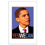"""Barack Obama """"Yes We Can"""" Large Poster"""