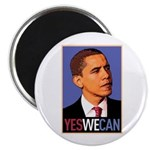 """Barack Obama """"Yes We Can"""" Magnet"""
