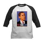"Barack Obama ""Yes We Can"" Kids Baseball Jersey"