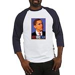 """Barack Obama """"Yes We Can"""" Baseball Jersey"""