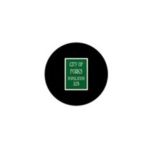 Twilight Forks Sign Mini Button (100 pack)