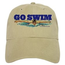 Go Swim Baseball Cap