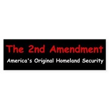 2nd Amendment Bumper Bumper Sticker