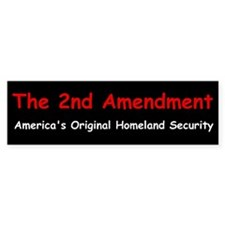 2nd Amendment Bumper Bumper Sticker