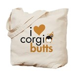 I Heart Corgi Butts - RHT Tote Bag