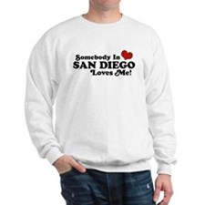 Somebody In San Diego Loves Me Sweatshirt