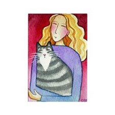 CAT LADY No. 39...Refrigerator Magnet (no text)