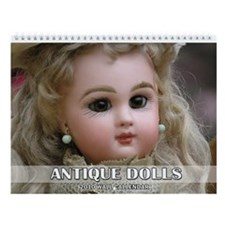 2010 Antique Dolls Wall Calendar
