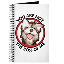 Dog Not the Boss Of Me Journal