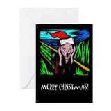 The Christmas Scream Greeting Cards (Pk of 10)