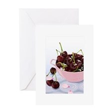 Bing Cherries Greeting Card