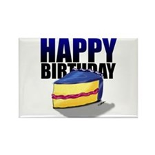 Happy Birthday! Rectangle Magnet (10 pack)