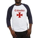 Colombia (iron cross) Baseball Jersey