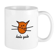 Hola Gato! Orange Kitty Mug