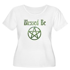 Blessed Be & Wiccan Rede Plus Size T-Shirt